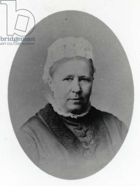 Mary Taylor (b/w photo)