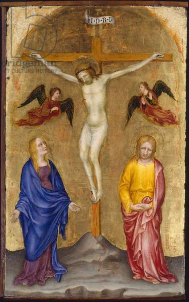 Crucifixion, c.1408 (tempera on board)