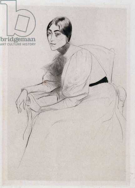 Portrait of Stephanie, 1910 (oil on canvas)