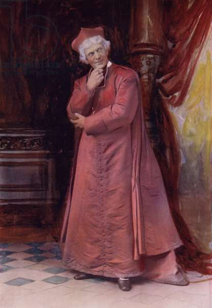 Mr Arthur Bourchier in The Bishop's Move (colour photo)
