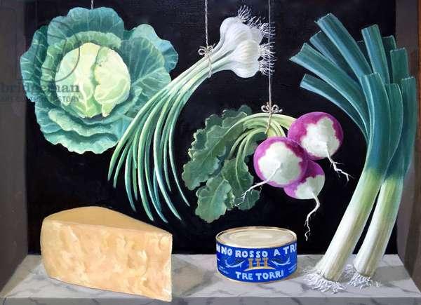 Parmesan, 2015, (oil on canvas)