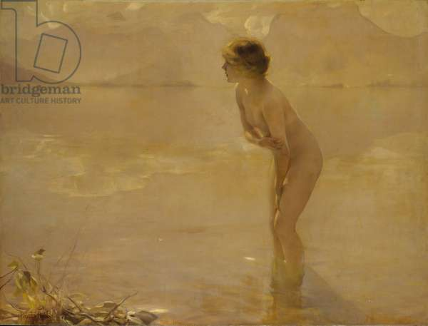 September Morn, c.1912 (oil on canvas)