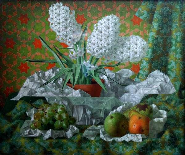 Hyacinths, 1937 (oil on canvas)