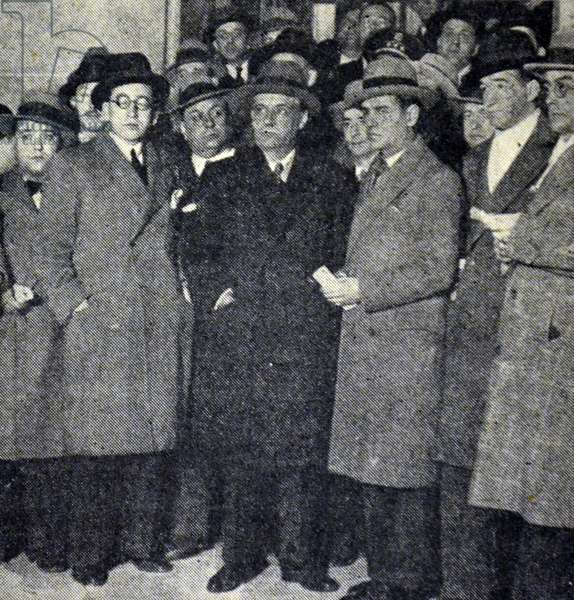 Spanish civil war: Ortega y Gasset.