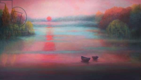 Quiet Place, 2017, (oil on canvas)