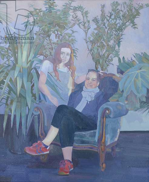 'Inevitable - Leya', 2014, (oil on board)