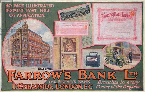 Farrow's Bank Ltd. - 'The People's Bank'