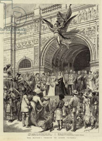 The Nation's Tribute to Queen Victoria (engraving)