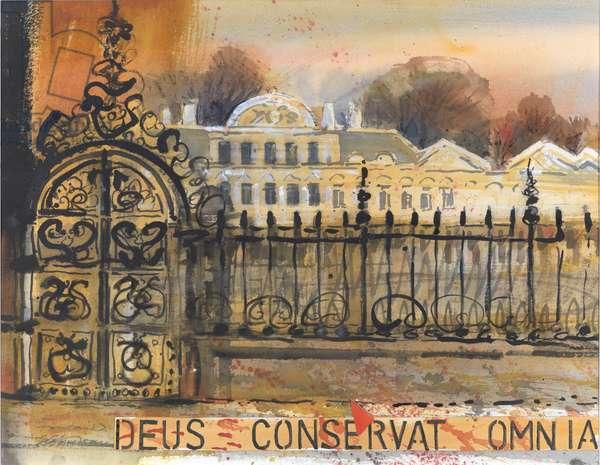 Deus Conservat Omnia (w/c on paper)