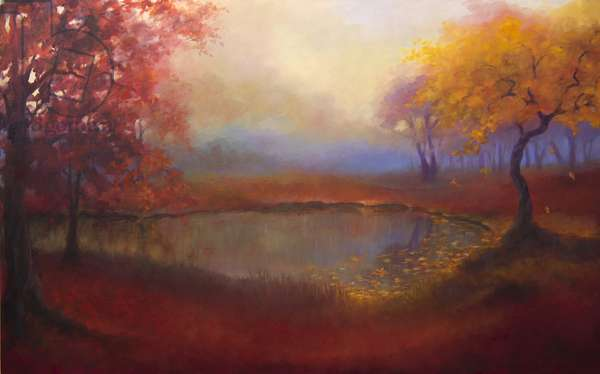 Reve Rousse, 2016, (oil on canvas)