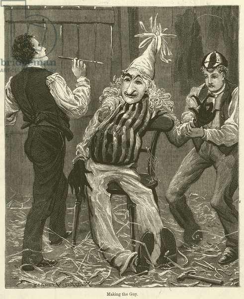 Making the Guy (engraving)