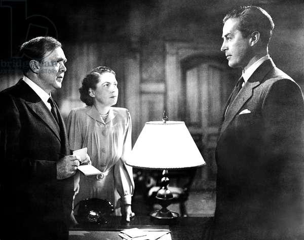 ALIAS NICK BEAL, from left, Thomas Mitchell, Geraldine Wall, Ray Milland, 1949