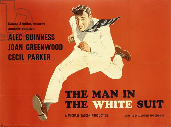 The Man in the White Suit, c.1951 (colour litho)