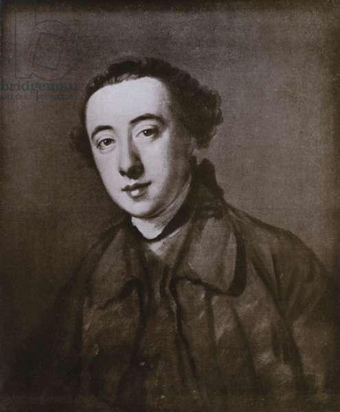 Horace Walpole (litho)