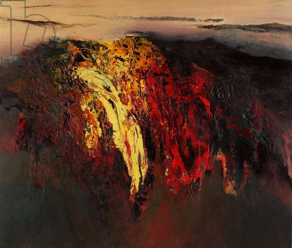 Fireland, 2002 (oil on linen)
