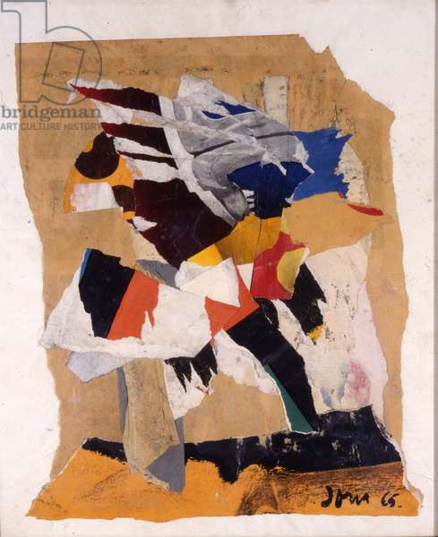 Untitled, 1965 (collage on paper)