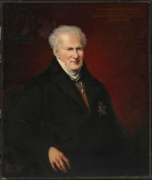 Alexander von Humboldt, (1769-1859), 1855 (oil on canvas)