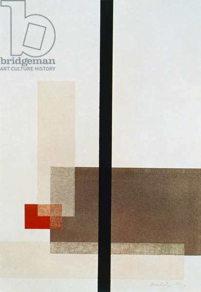 Composition, 1923, by Laszlo Moholy-Nagy (1895-1946)