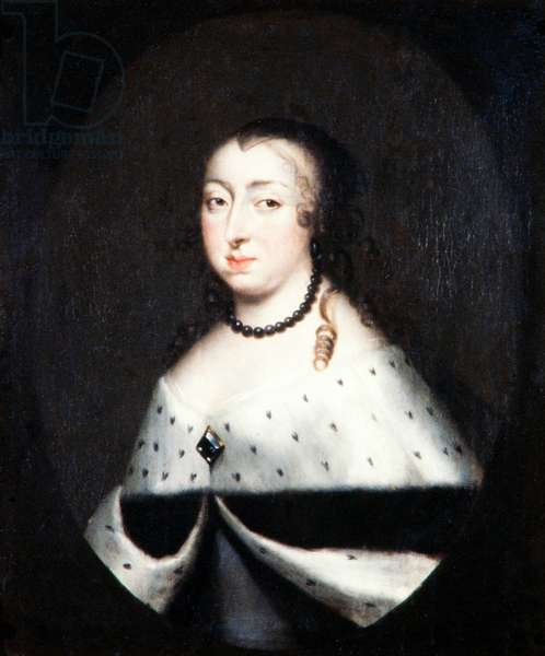 Hedvig Eleonora, Queen Dowager of Sweden, c.1661 (oil on canvas)