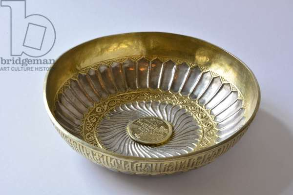 Bowl, Moscow, Russia, late 16th century (silver)