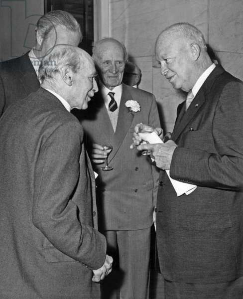 Dwight David Eisenhower et Clement Richard