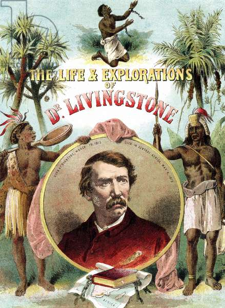 David Livingstone (1813-73) Scottish missionary and explorer of Africa. Chromolithograph from The Life and Explorations of Dr Livingstone c1875