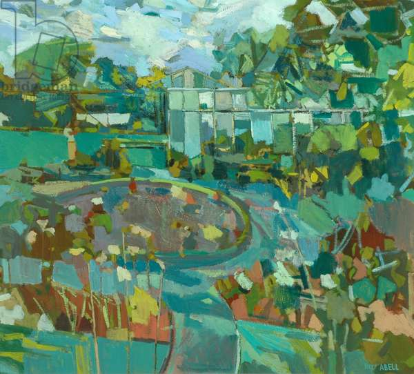 Garden, c.1960 (oil on canvas)
