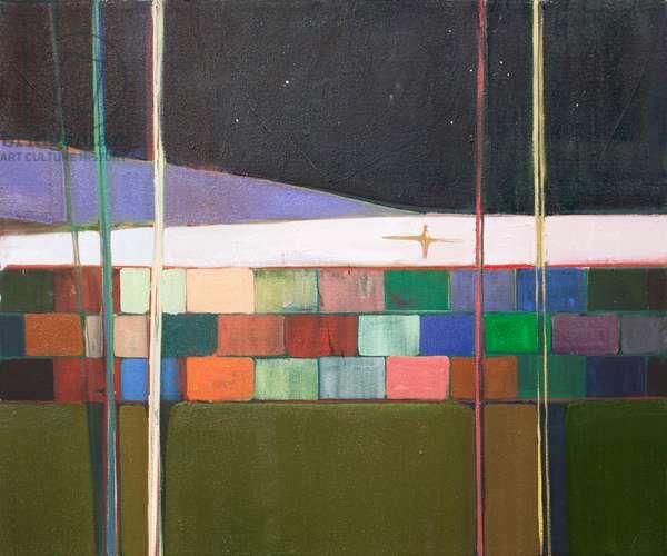 rainbow blocks, 2016 (oil on canvas)