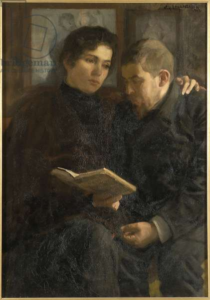 A Poem, 1902 (oil on canvas)