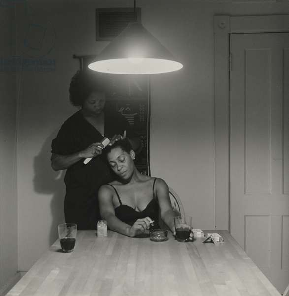Untitled, from The Kitchen Table Series, 1990 (gelatin silver print)