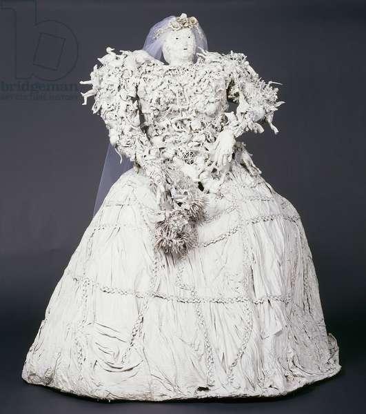 The Bride; La Mariee, 1963 (assemblage)