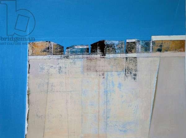 Facade 1, Egypt, 2005 (acrylic on plywood)