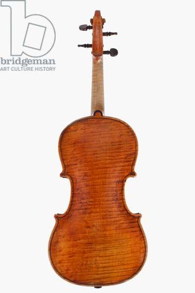 Violin (back), Turin, 1731