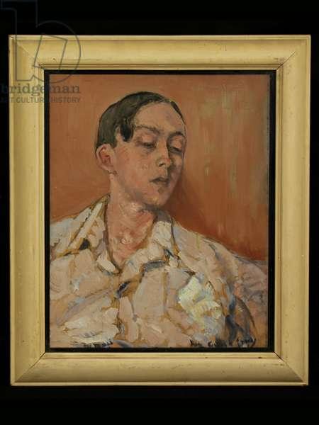 Portrait of Eddy Sackville-West, 1964 (oil on board)