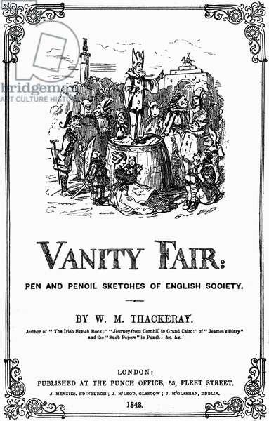 'Vanity Fair' titlepage -