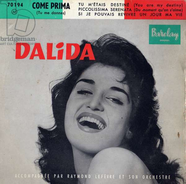 45 tours Dalida Come Prima
