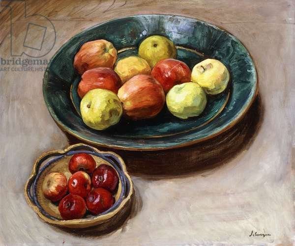 Still-life with Apples; Nature Morte aux Pommes, c.1926 (oil on canvas)