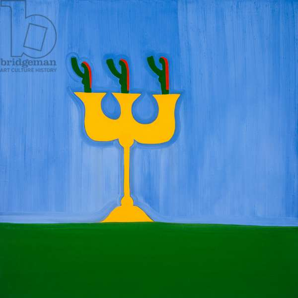 Candlestick,1998,(oil on linen)
