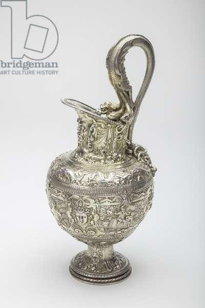 Silver Gilt Ewer, c.1580-1600 (silver)