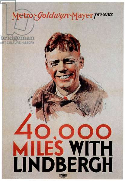 40,000 MILES WITH LINDBERGH