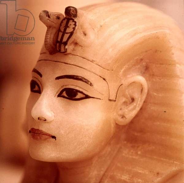 Tutankhamen: Bust of Tut Egyptian Art Egyptian National Museum Cairo, Egypt