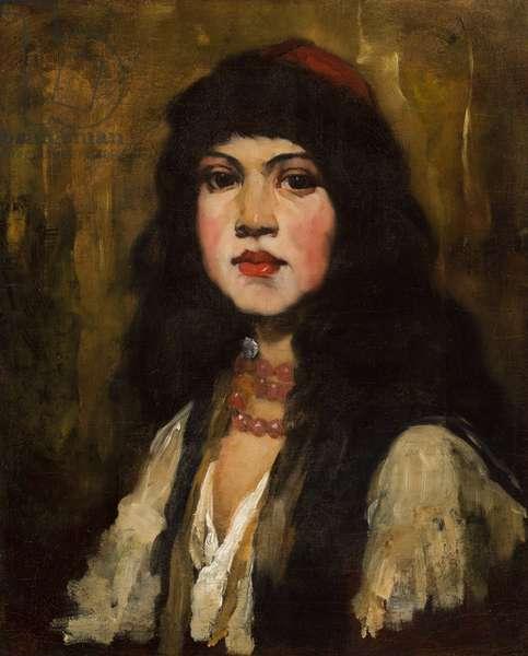 Venetian Girl, 1880 (oil on canvas)