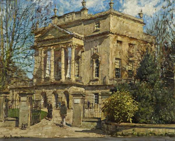 The Holburne Museum, 2001 (oil on canvas)