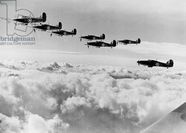 Hawker Hurricane MK1 (RAF) planes, used from 1937
