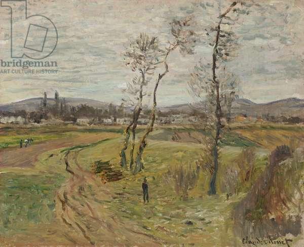 Gennevilliers Plain; La Plaine de Gennevilliers, 1877 (oil on canvas)