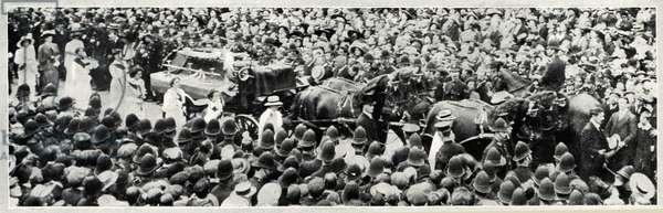 Suffragette Emily Wilding Davison Funeral