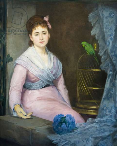 Indolence, c. 1871-1872 (oil on canvas)
