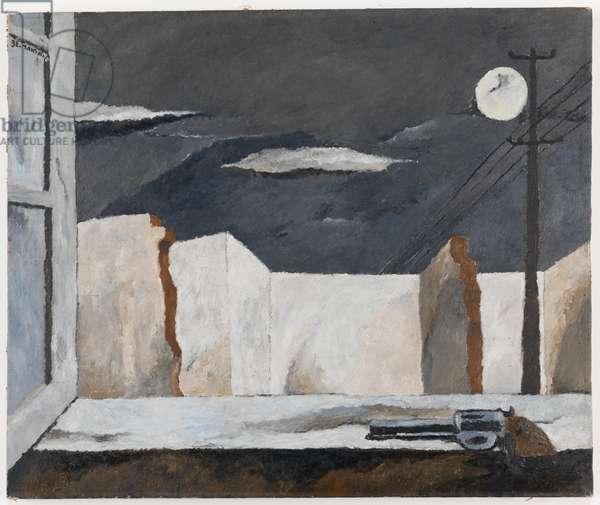 The Window, 1932 (oil on canvas)