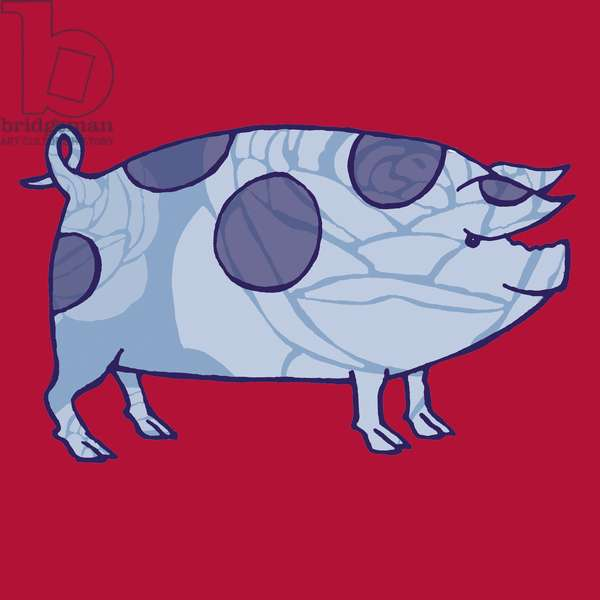 Piddle Valley Pig, 2005 (digital)