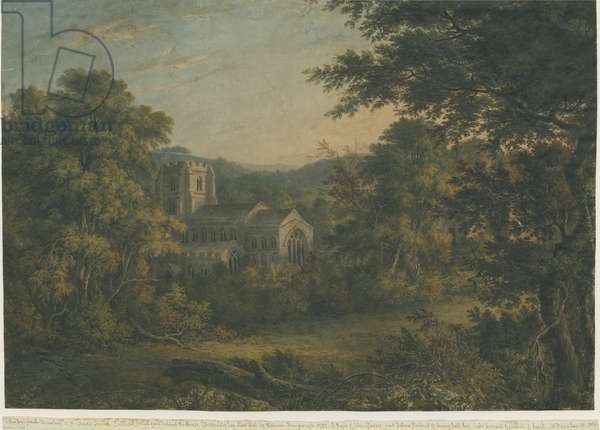 Lichfield - St. Chad's Church: water colour painting, 1797 (painting)